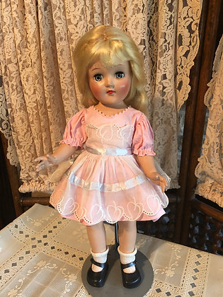"Toni Doll Orig. Dress 14"", 1950's, VG collectible"