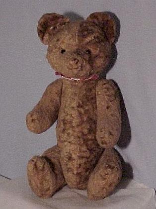 "Antique Rust Teddy Bear 21"""
