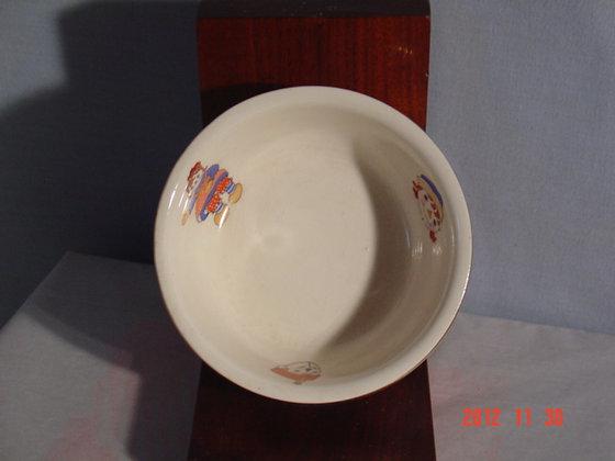Raggedy Ann Bowl, Crooksville Pottery, 1941