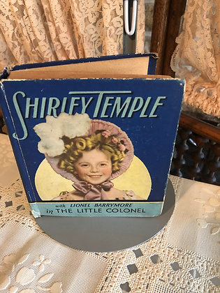 Book, Shirley Temple in The Little Colonel, Saalfield