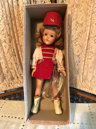 Effanbee Little Lady Majorette in her box