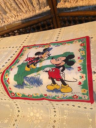 Mickey and Minnie Hankie