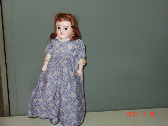 "Armand Marseille Sweet Girl Doll, 12"", antique"