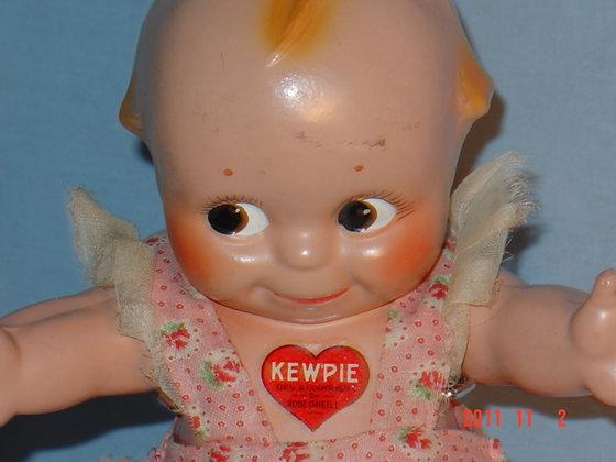 """Antique Kewpie Doll composition 12"""""""