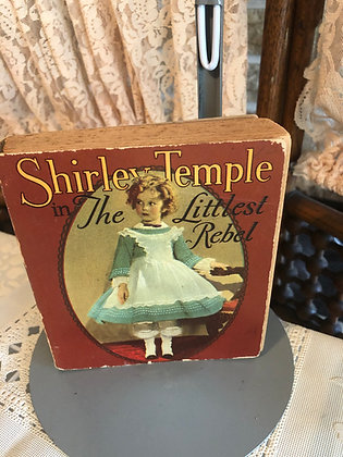 Book, Shirley Temple in The Littlest Rebel
