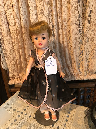 Little Miss Revlon doll in Lounge Outfit