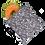 Thumbnail: Colibri Reusable Sandwich Bag - Flight Path
