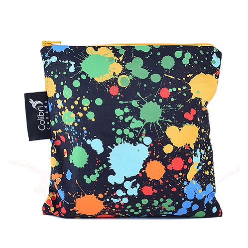 Colibri Reusable Sandwich Bag- Splatter