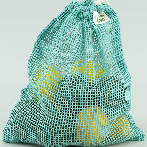 Produce Bag Washed Blue - Medium