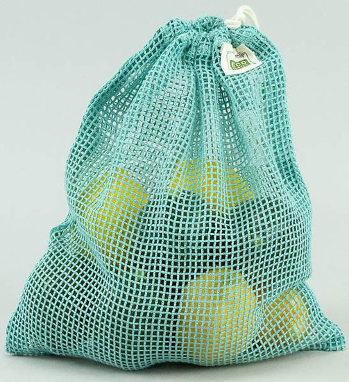 Produce Bags Washed Blue - Pack of 4
