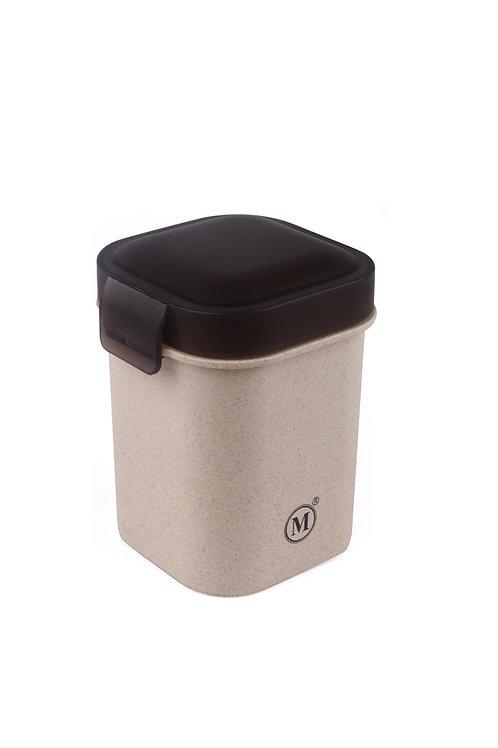 Minimal Natural Fiber Leakproof Tumbler