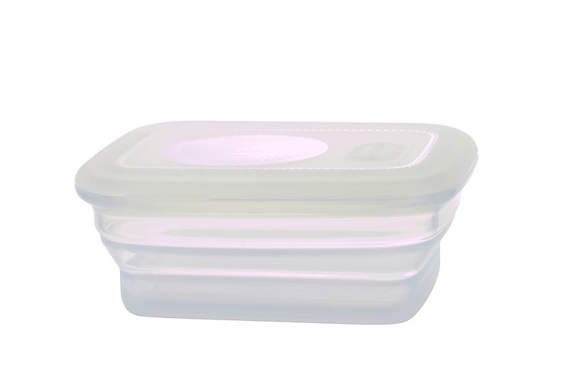 Minimal Silicone Food Container-  660 ml