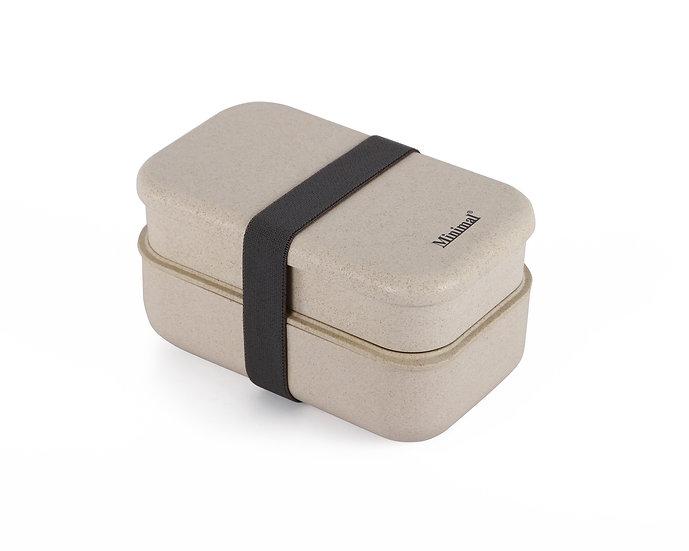 Minimal Natural Fiber Bento Box Plus