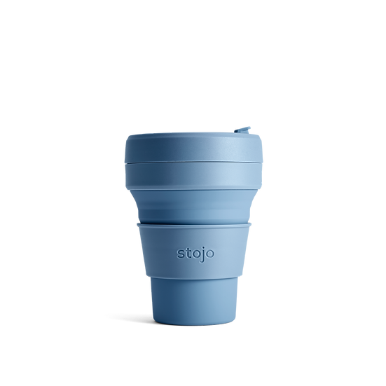 Collapsible Pocket 12 oz/355 ml cup - Steel