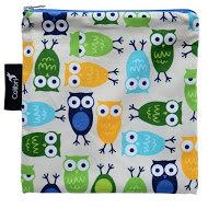 Colibri Reusable Sandwich Bag - Blue Owls