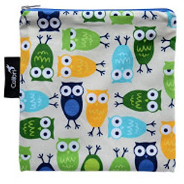 Colibri Reusable Snack Bag - Blue Owls