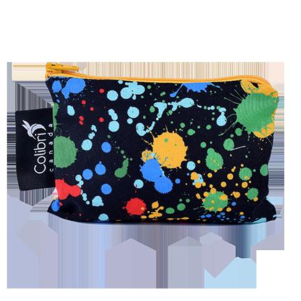Colibri Reusable Snack Bag- Splatter