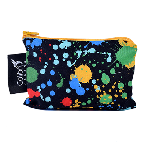Colibri Reusable Snack Bag- Splatter