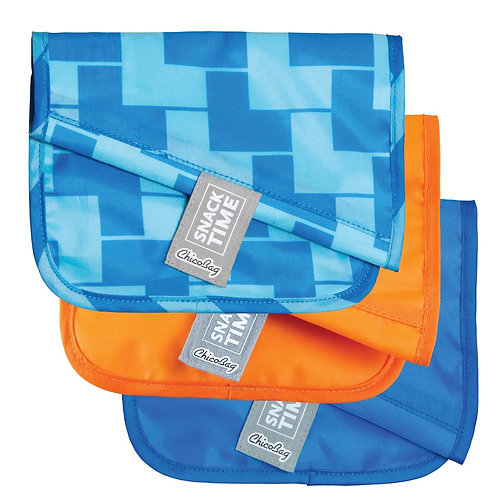 Chico Bag Snack/Sandwich Bags -Blue Ladder ( 3-pack)