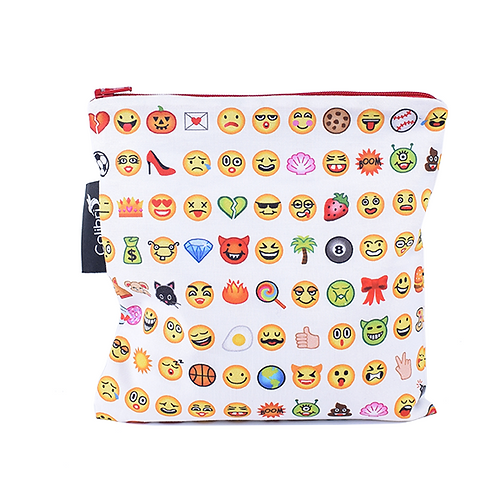 Colibri Reusable Sandwich Bag-Emoji