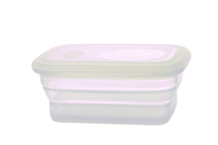 Minimal Silicone Food Container - 460 ml