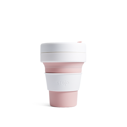 Collapsible Pocket 12 oz/355 ml Cup - Rose
