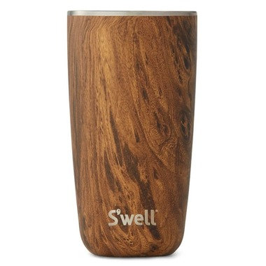 532 ml (18 oz) S'well Insulated Tumbler - Teakwood