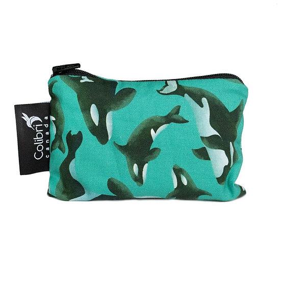 Colibri Reusable Snack Bag - Orca