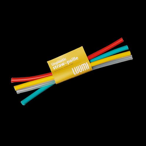 Luumi Silicone Straws - Set of 4