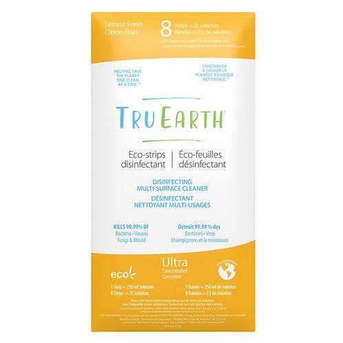 Tru Earth Disinfecting Multi-Surface Cleaner (Lemon Fresh) - 8 Strips
