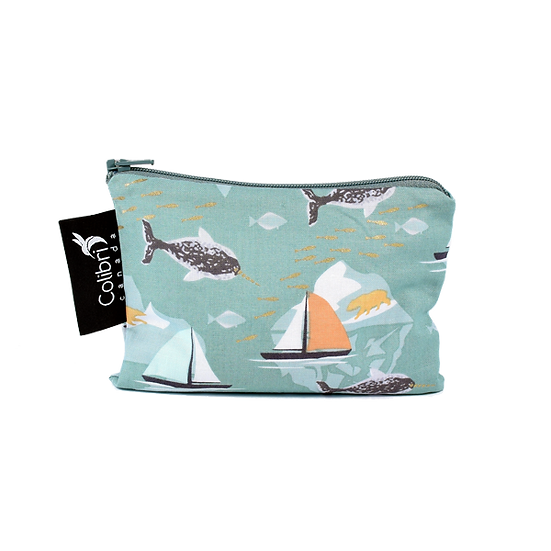 Colibri Reusable Snack Bags - Narwahl