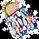 Thumbnail: Colibri Reusable Sandwich Bag - Quill