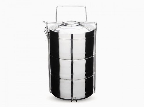 3 layer Double Walled Tiffin