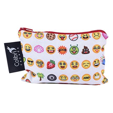 Colibri Reusable Snack Bag - Emoji
