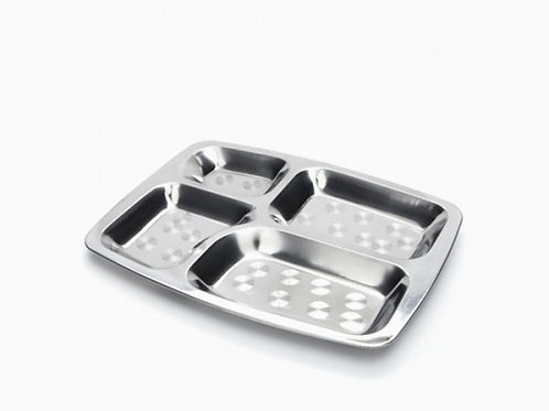 Large Divided Food Tray