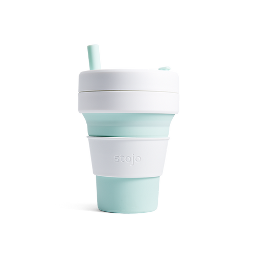 Collapsible Biggie Cup - 16 oz/475 ml - Mint