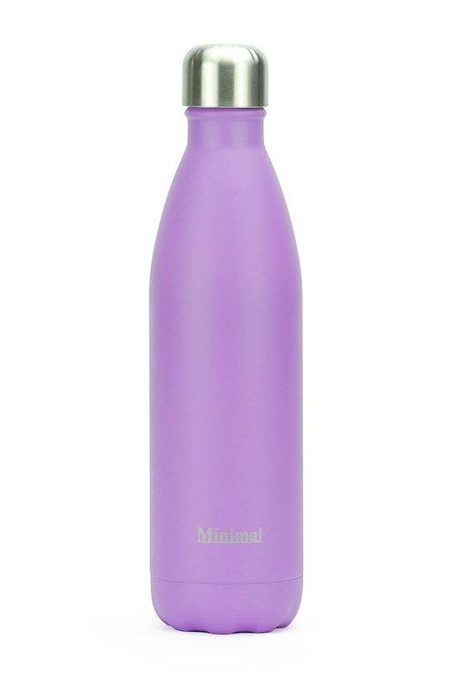 Minimal Insulated 750 ml Bottle - Lavender