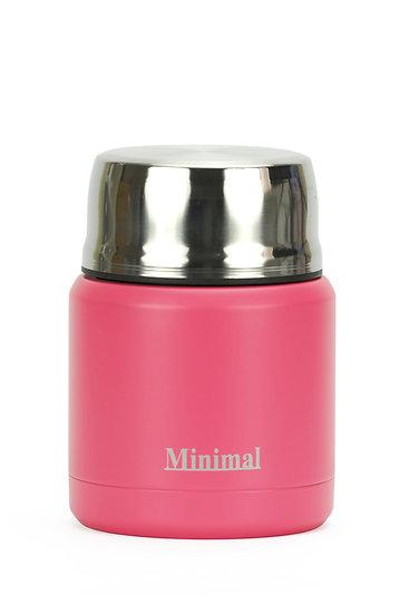 Minimal Insulated Foor Jar - 360 ml - Echo Peach