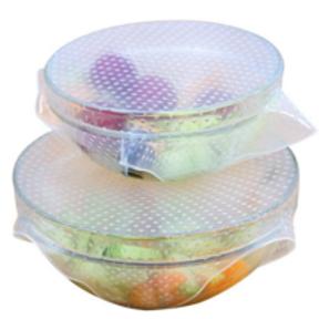 Reusable Silicone Wraps - Set of 4