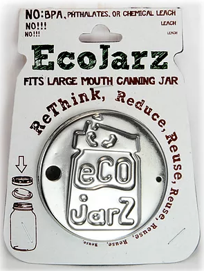 EcoJarz Classic Drinking Jar Lid - Wide Mouth