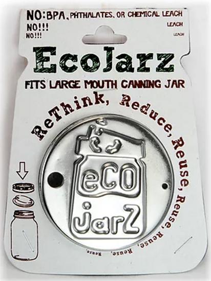 EcoJarz Classic Drinking Jar Lid - Wide Mouth