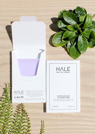 Paper Soap- Calm Lavender