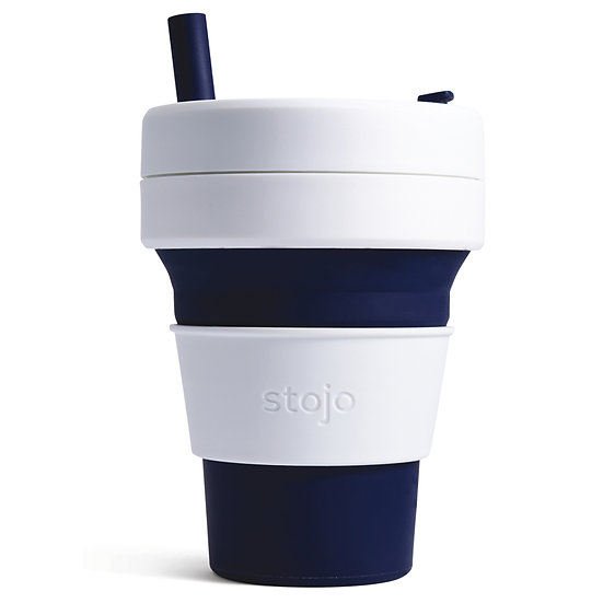 Biggie Collapsible Cup 16 oz/475 ml - Indigo