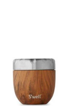 S'well Eats Stainless Steel Thermal Container - Teakwood