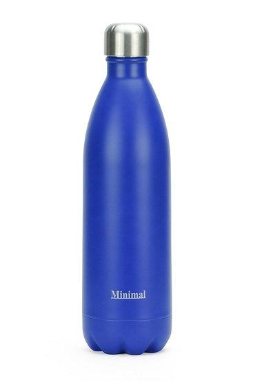 Minimal Insulated 1Litre bottle -Blue