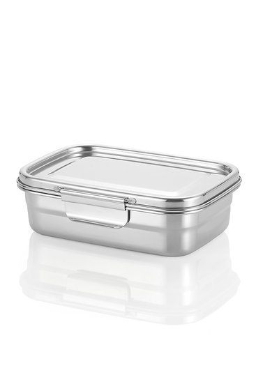 Stainless Steel Lunch Box - 1260 ml/42 oz