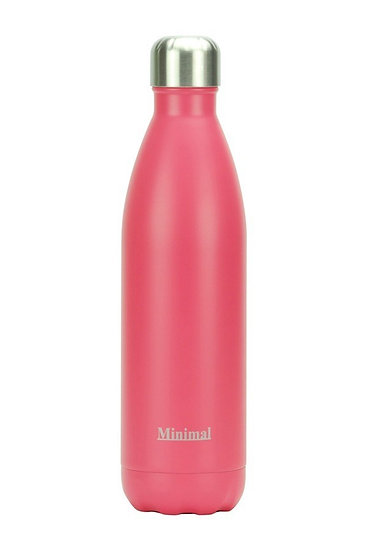 Minimal Insulated 750 ml Bottle- echo Peach