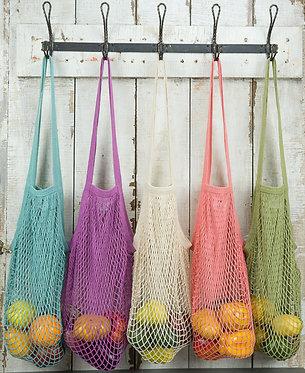 Eco Bag Market String Shopper Bag - Assorted Colours
