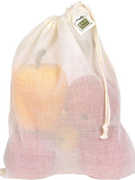 Natural Cotton Gauze Produce/Bulk Bags