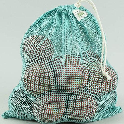 Produce Bag Washed Blue - Large